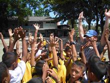 Volunteer on an overseas social project