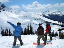 11 week ski or snowboard Level 1 and 2 instructor course in Whistler Blackcomb