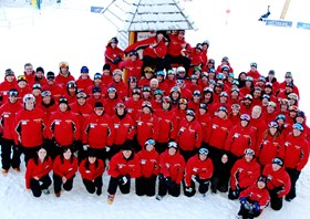 Lake Louise Instructor team