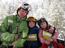 Working as a ski instructor with Whistler Kids
